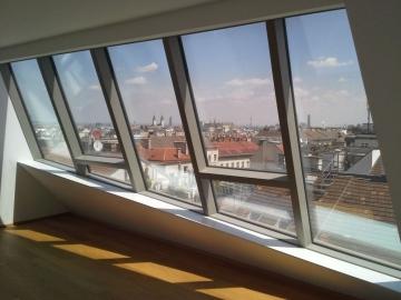 Dachgaupe aus Pfosten Riegel System