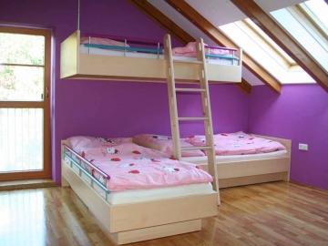 Außergewöhliche Wohnidee für platzsparende Kinderzimmer
