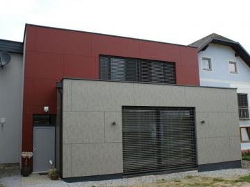 Fassadengestaltung aus FunderMax Exteriorplatten