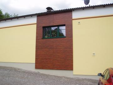 Kreative Aktzente auf Fassade mit FunderMax Exteriorplatten